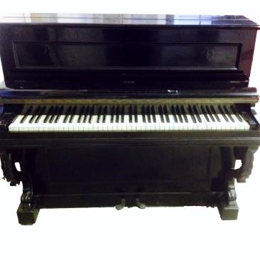 Pianoforte Verticale F. ELCKE' PARIS – Medailles D'Or Antico