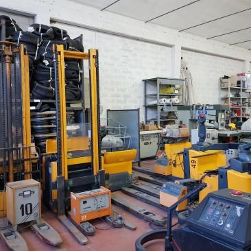 Lotto di Transpallet Elettrici Jungheinrich/OM – Pimespo/BT- CESAB