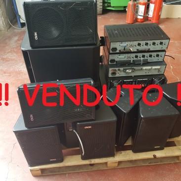 Impianto Stereo per Discoteca