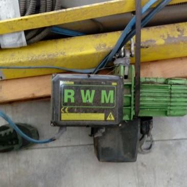 Gru a Bandiera Elephant con Paranco elettrico RWM