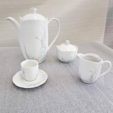 NR. 2 SERVIZI DA CAFFE' IN PORCELLANA ESCHENBACH A FIORI