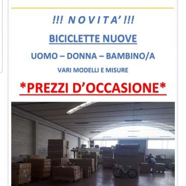ULTIME RIMANENZE DI BICI!!! VENDITA A STOCK VERA OCCASIONE!